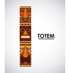Totem design vector