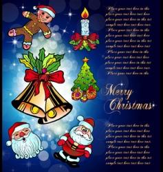 cartoon christmas vector image