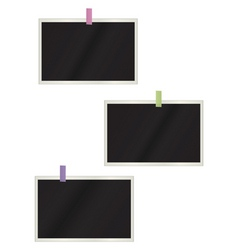 photos hanging background vector image vector image