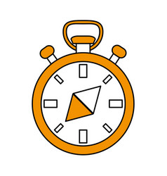 Navigation compass icon image vector
