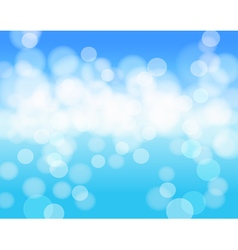 sky blue abstract background vector image vector image