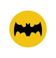 Bat silhouette vector