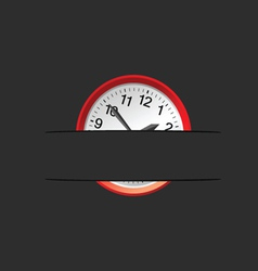 clock in the pocket vector image