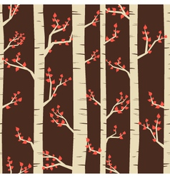 Birch pattern vector