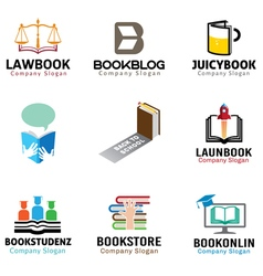 Book Object Symbol Design vector image