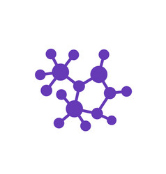 Decentralization decentralized structure icon vector