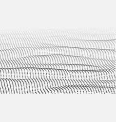 landscape cyber concept futuristic vector image