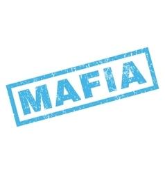 Mafia Rubber Stamp vector