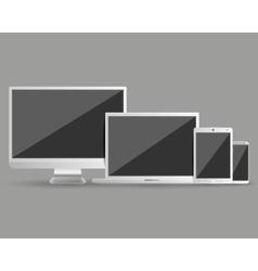Modern devices set vector