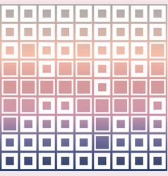 mosaic cubes on pastel color vector image