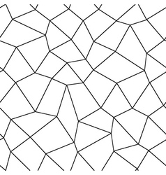 Mosaic geometric seamless pattern vector