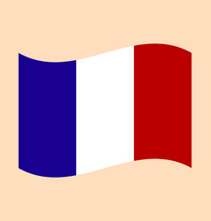 official national flag of france vector image