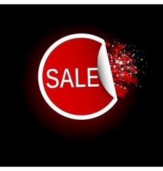 Sale Tag label vector image