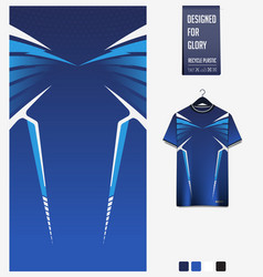 Soccer jersey pattern design abstract pattern vector