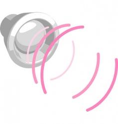 speaker illustration vector image