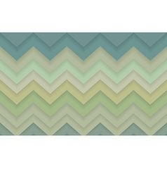 Zigzag chevron 3d pattern background vector image