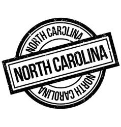 North Carolina rubber stamp vector image