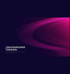 Abstract dynamic waves line background minimal vector