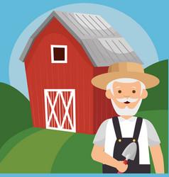gardener avatar character icon vector image