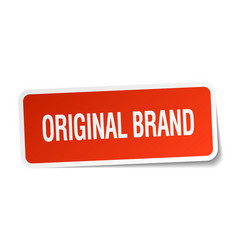 Original brand vector
