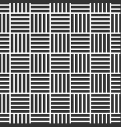 seamless pattern of intertwined stripes vector image