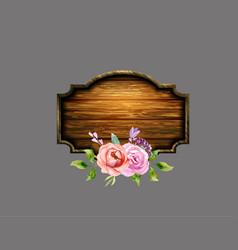 Set of the floral arrangements vector