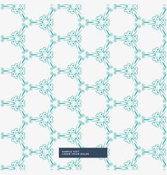 Floral pattern background design vector
