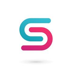 Letter s logo icon design template elements vector