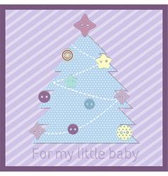 Baby tree vector
