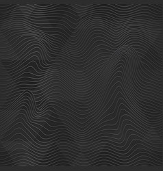 black waves seamless texture vector image