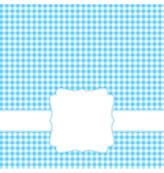 Blank blue card vector