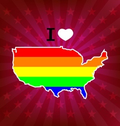 celebrate pride vector image