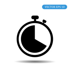stopwatch icon eps 10 vector image