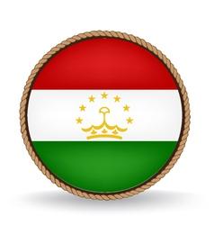 Tajikistan Seal vector image