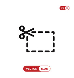 voucher icon vector image