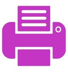 Print icon vector