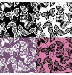 Butterflies seamless 380 vector