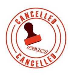 Cancelled seal vector