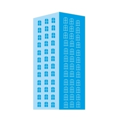 city building pictogram icon image vector image
