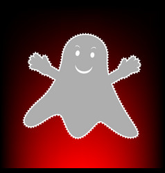 ghost isolated vector image