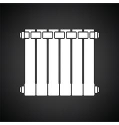 Icon of Radiator vector image
