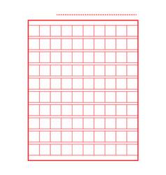 Squared manuscript icon paper file isolated vector