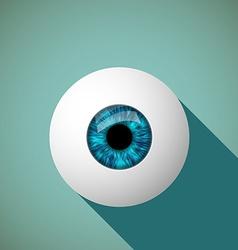 Icon eye Stock vector image