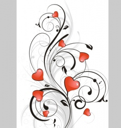 st valentine theme vector image vector image