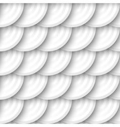 Circles with drop shadows vector image vector image