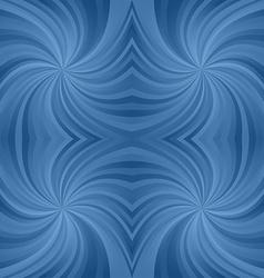 Azure spiral pattern background vector