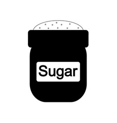 bag of sugar icon vector image