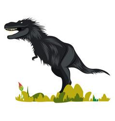 Gorgosaurus on white background vector