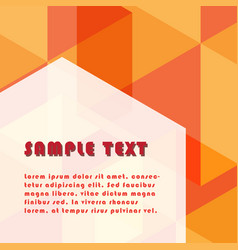 Hexagonal shape abstract background with free vector