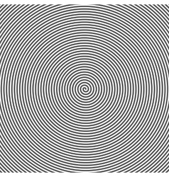 Hypnotic Spiral Abstract Background Retro Style vector image